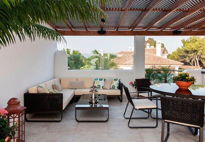 Palm Beach – terraza sofá